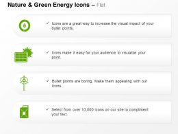 Eco Environment Windmill Solar Panel Oil Barrel Ppt Icons Graphics