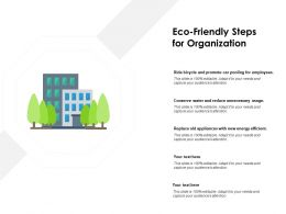 Eco Friendly Steps For Organization