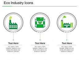 Eco Industry Icons