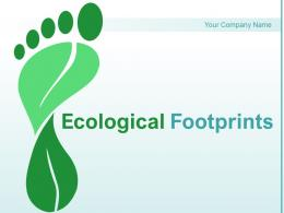 Ecological Footprints Components Environment Activities Circle Countries