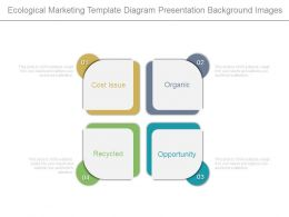 Ecological Marketing Template Diagram Presentation Background Images
