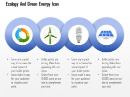 Ecology And Green Energy Icons With Windmill Cfl And Solar Light Editable Icons