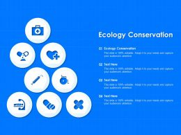 Ecology Conservation Ppt Powerpoint Presentation Slides Files
