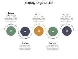 Ecology Organization Ppt Powerpoint Presentation Pictures Microsoft Cpb