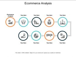 Ecommerce Analysis Ppt Powerpoint Presentation Styles Slides Cpb