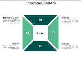 Ecommerce Analytics Ppt Powerpoint Presentation Slides Graphics Tutorials Cpb