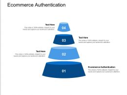 Ecommerce Authentication Ppt Powerpoint Presentation Slides Download Cpb