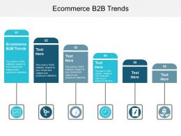 Ecommerce B2B Trends Ppt Powerpoint Presentation File Example File Cpb
