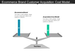 Ecommerce Brand Customer Acquisition Cost Model Big Data Marketing Cpb