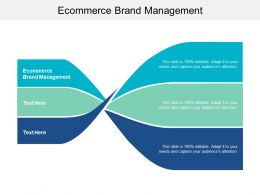 Ecommerce Brand Management Ppt Powerpoint Presentation File Graphics Download Cpb