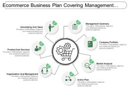Ecommerce Business Plan Covering Management Summary Market Analysis