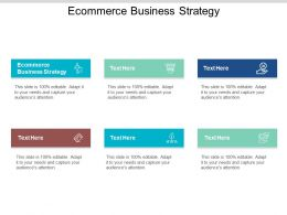Ecommerce Business Strategy Ppt Powerpoint Presentation Styles Microsoft Cpb