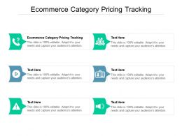 Ecommerce Category Pricing Tracking Ppt Powerpoint Presentation Model Grid Cpb