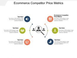 Ecommerce Competitor Price Metrics Ppt Powerpoint Presentation Layouts Example Cpb