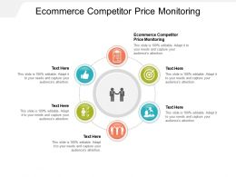 Ecommerce Competitor Price Monitoring Ppt Powerpoint Presentation Icon Inspiration Cpb
