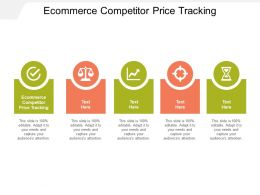 Ecommerce Competitor Price Tracking Ppt Powerpoint Presentation Portfolio Example Cpb