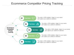 Ecommerce Competitor Pricing Tracking Ppt Powerpoint Presentation Icon Cpb