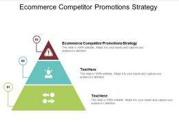 Ecommerce Competitor Promotions Strategy Ppt Powerpoint Presentation Slides Rules Cpb