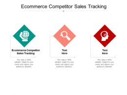 Ecommerce Competitor Sales Tracking Ppt Powerpoint Infographic Template Template Cpb