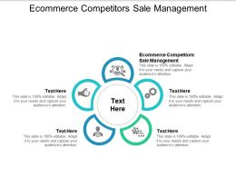 Ecommerce Competitors Sale Management Ppt Powerpoint Presentation Infographic Objects Cpb