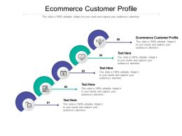 Ecommerce Customer Profile Ppt Powerpoint Presentation Pictures Graphics Cpb