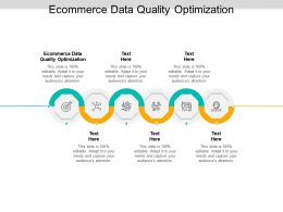 Ecommerce Data Quality Optimization Ppt Powerpoint Infographics Design Ideas Cpb
