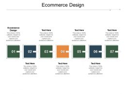 Ecommerce Design Ppt Powerpoint Presentation Slides Graphics Template Cpb