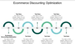 Ecommerce Discounting Optimization Ppt Powerpoint Presentation Model Graphics Example Cpb