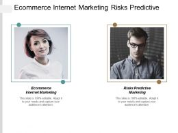 Ecommerce Internet Marketing Risks Predictive Marketing Systems Marketing Cpb