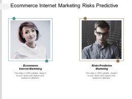 Ecommerce Internet Marketing Risks Predictive Marketing Systems Marketing Cpb