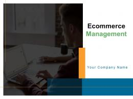 Ecommerce Management Powerpoint Presentation Slides