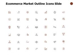 Ecommerce Market Outline Icons Slide Technology Communication D43 Ppt Powerpoint Presentation