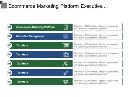 Ecommerce Marketing Platform Executive Management Social Media Strategy Development Cpb