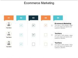 Ecommerce Marketing Ppt Powerpoint Presentation Infographics Summary Cpb