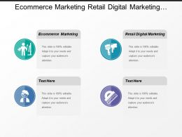 Ecommerce Marketing Retail Digital Marketing Consumer Experience Strategy Cpb