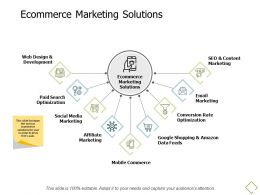 Ecommerce Marketing Solutions Development A679 Ppt Powerpoint Presentation Gallery Infographics