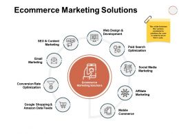 Ecommerce Marketing Solutions Ppt Powerpoint Presentation Show