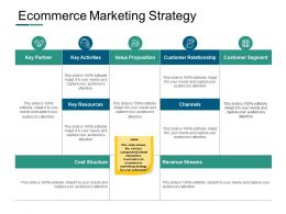 Ecommerce Marketing Strategy Ppt Powerpoint Presentation Outline Styles