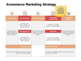 Ecommerce Marketing Strategy Ppt Powerpoint Presentation Styles