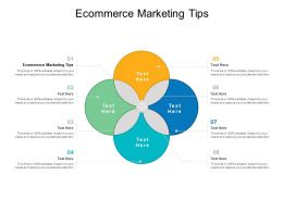 Ecommerce Marketing Tips Ppt Powerpoint Presentation Gallery Design Templates Cpb