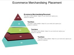 Ecommerce Merchandising Placement Ppt Powerpoint Presentation Infographics Styles Cpb