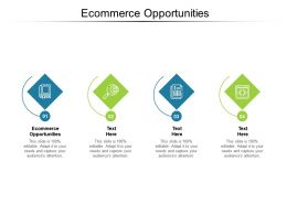 Ecommerce Opportunities Ppt Powerpoint Presentation Ideas Cpb