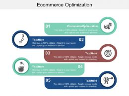 Ecommerce Optimization Ppt Powerpoint Presentation Styles Show Cpb