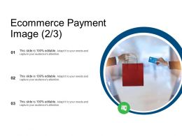 Ecommerce Payment Image Audience Attention Ppt Powerpoint Presentation Slides Deck