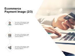 Ecommerce Payment Image Icons Strategy Ppt Powerpoint Presentation Background Image