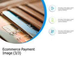 Ecommerce Payment Image Management Ppt Powerpoint Presentation File Example File