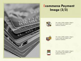 Ecommerce Payment Image Marketing Finance Ppt Powerpoint Show