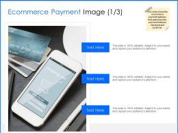Ecommerce Payment Image Mobile Ppt Powerpoint Presentation Design Ideas