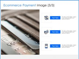 Ecommerce Payment Image Process Ppt Powerpoint Presentation Visual Aids Icon