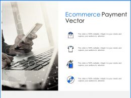 Ecommerce Payment Vector Icons Ppt Powerpoint Presentation Guide